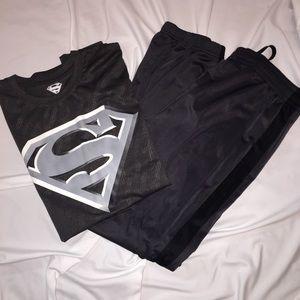DC Comics Other - Official DC COMICS Superman Tee & track pants